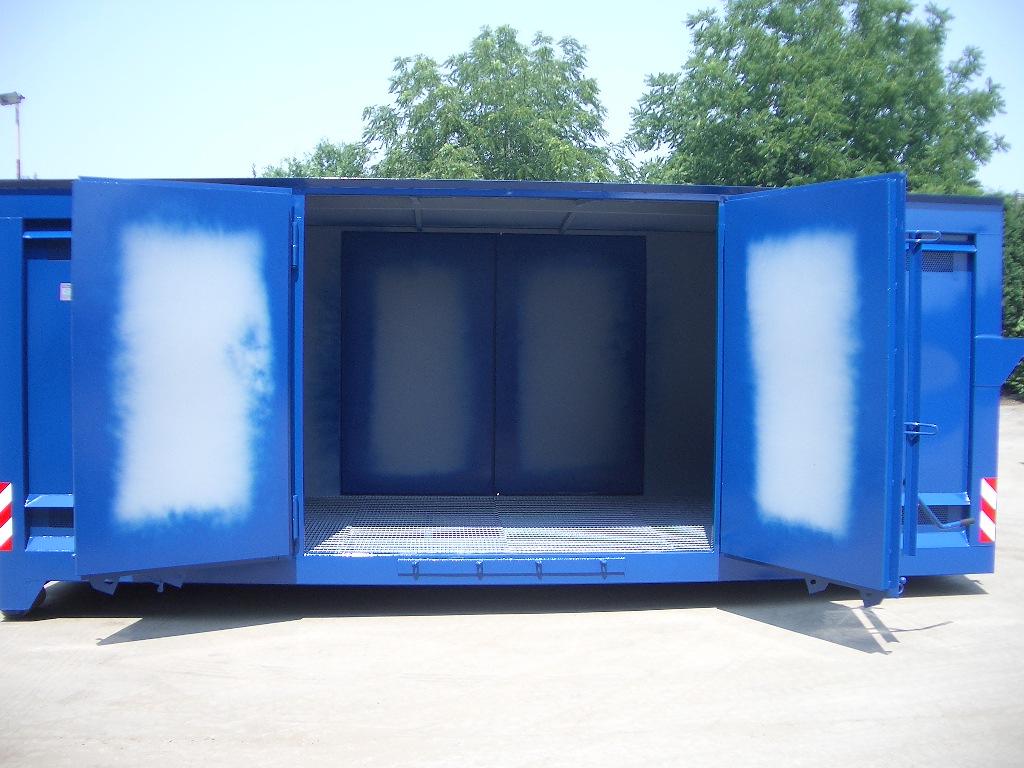 Cassone Scarrabile con grigliato interno e porte